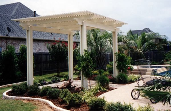Pergolas and solid patio covers for Free standing patio covers